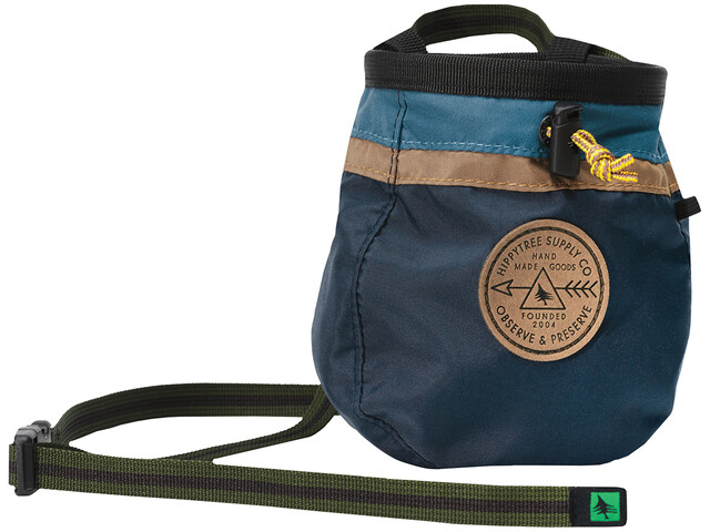 Hippy Tree Ledges Chalkbag, navy